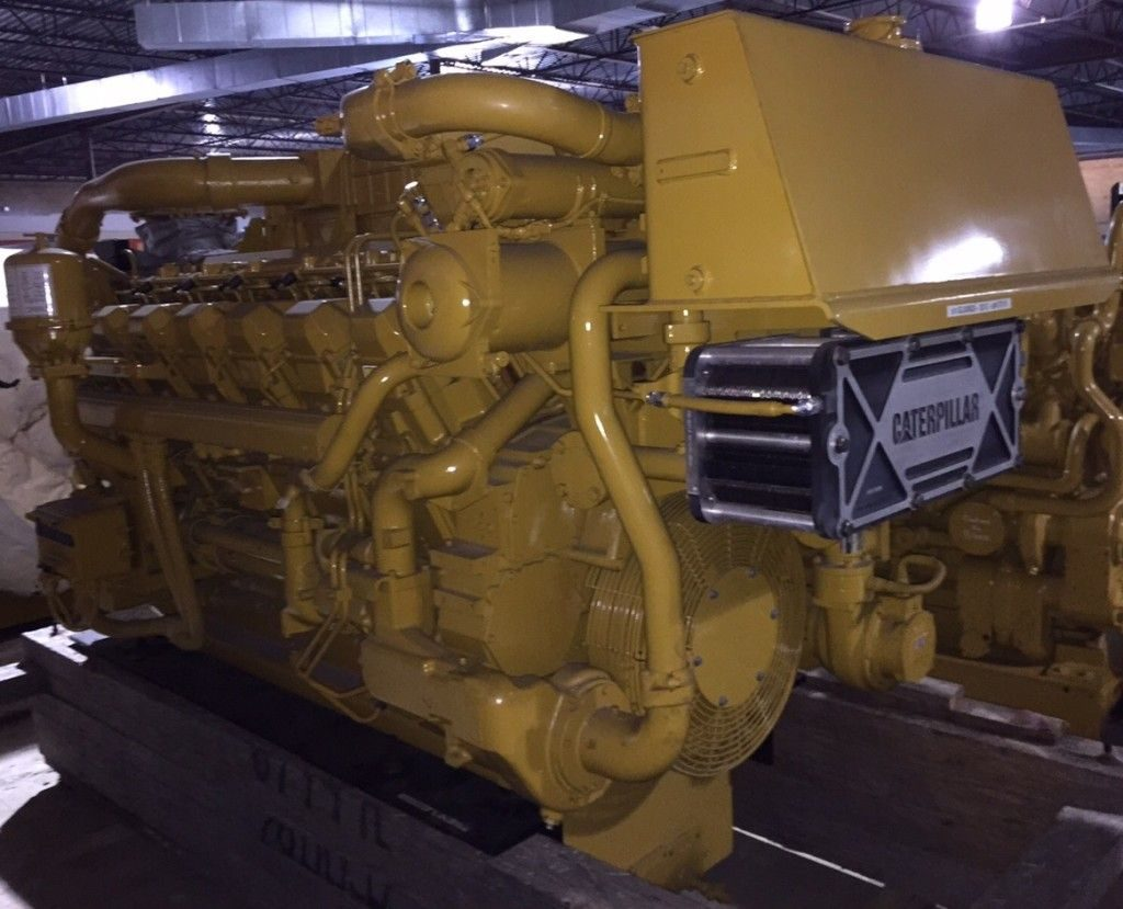 Caterpillar 3512b-hd Marine Propulsion Engines