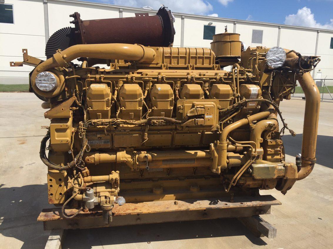 Used Cat 3512b Marine Propulsion Engine Wpp Item 4833 Wiring Diagram Sold