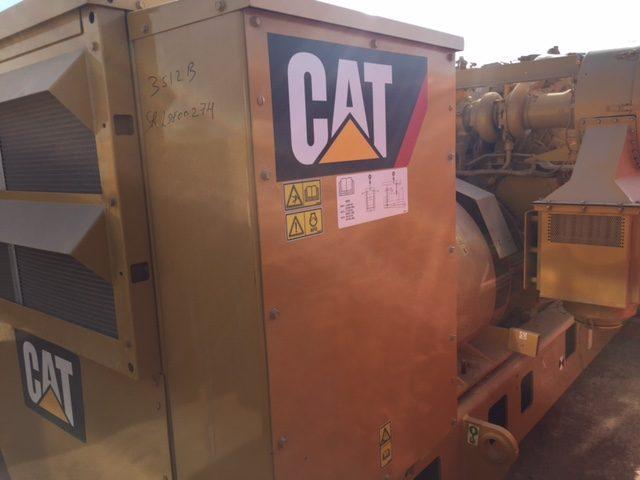 Caterpillar 3512B Petroleum Land Drilling Generator Set