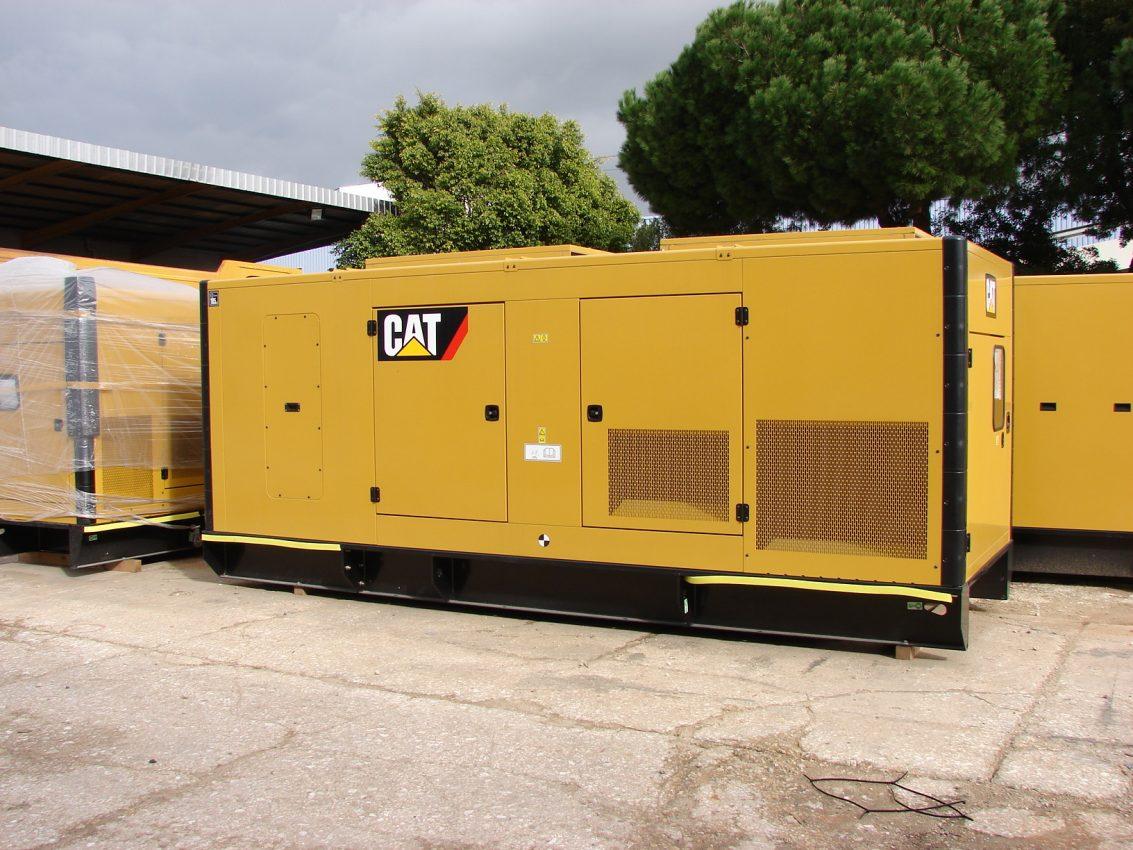 Caterpillar C18 Generator Set 50hz Wpp Item 4877 Cat Engine Wiring Diagram