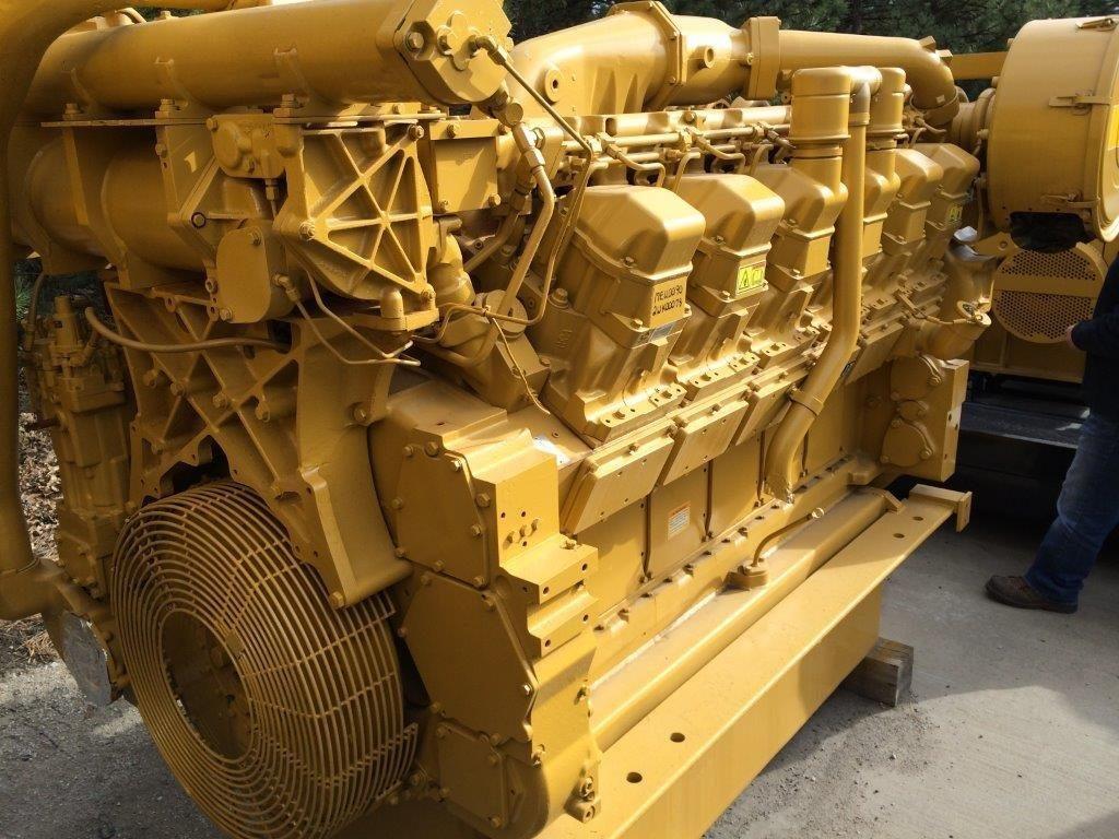 Rebuilt Cat 3512 Dita Industrial Diesel Engine Wpp Item 4138 Genset Wiring Diagram