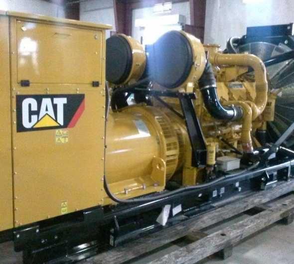Caterpillar C32 Open Generator Set - WPP Item 4441
