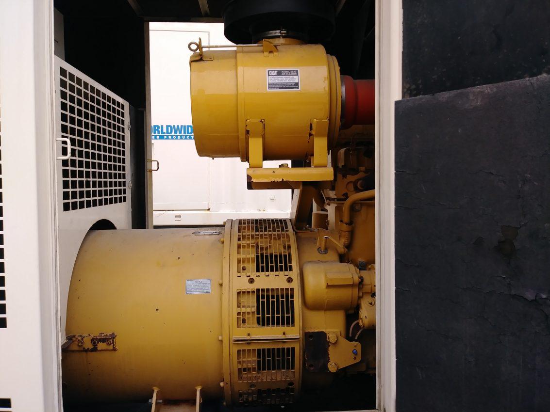 ... Caterpillar XQ200 Portable Generator Set - WPP Item 6466 on generator transfer  switch wiring, ...