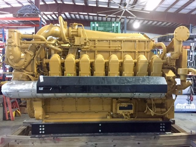 Cat G3516E Natural Gas Generator Set – 1500 rpm – New - WPP Item 6537