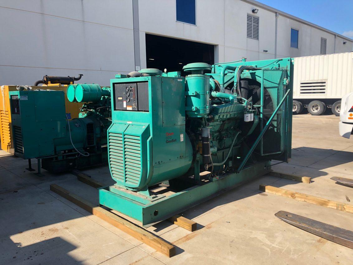 Cummins VTA28G1 Diesel Generator Set - WPP Item 6216