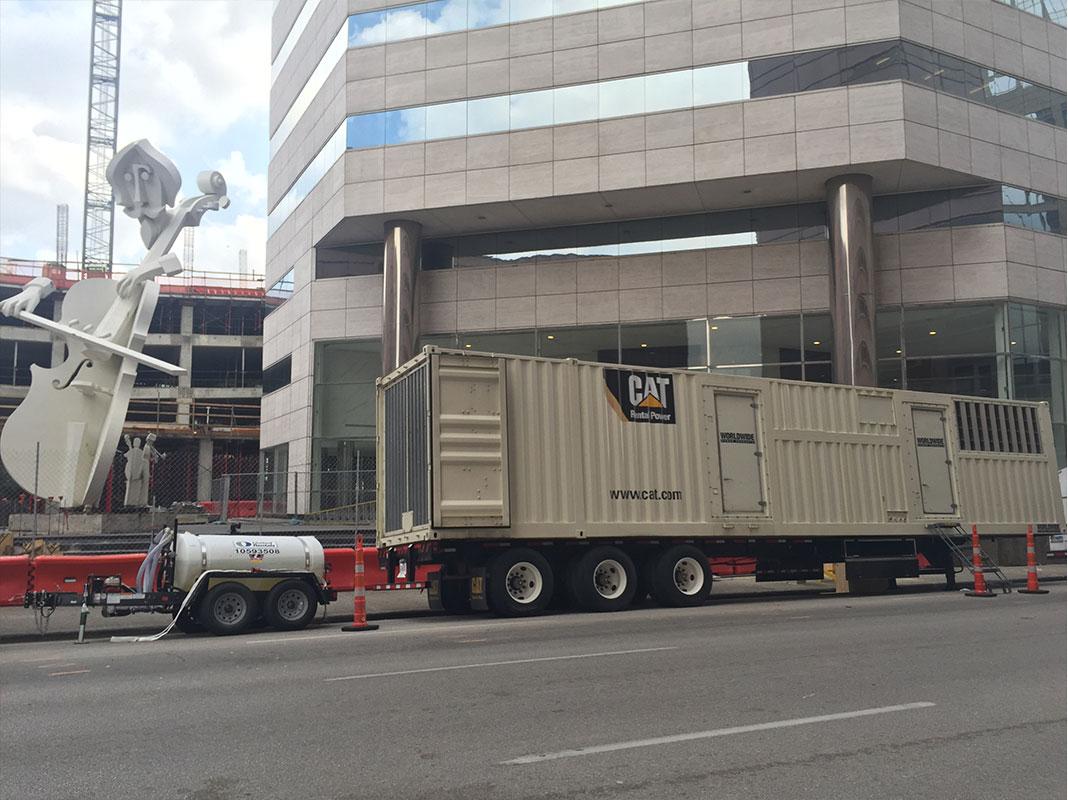 Generator Rental in Houston, Tx  and Surrounding Gulf Area