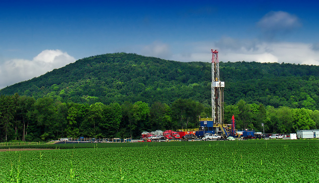Shale gas-drilling
