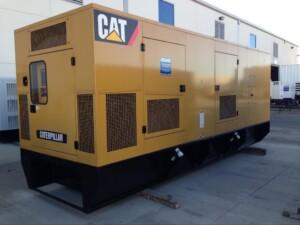 Caterpillar new standby generator