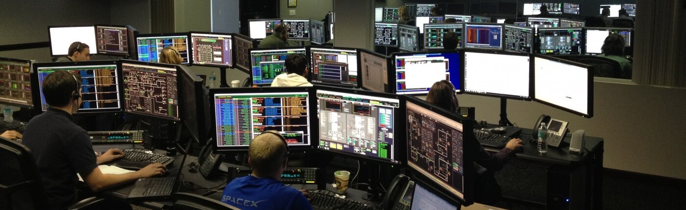 Remote generator monitoring room