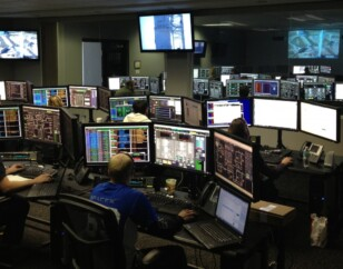 Remote generator monitoring room