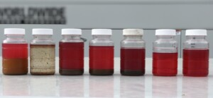 Diesel fuel polishing samples