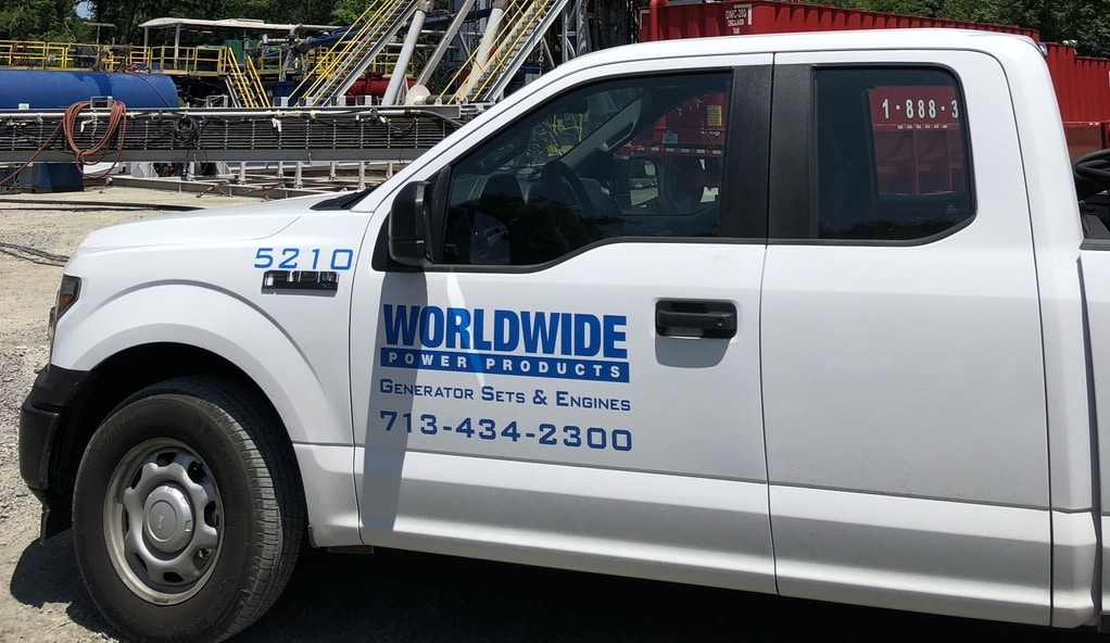 Worldwide Power Products service truck