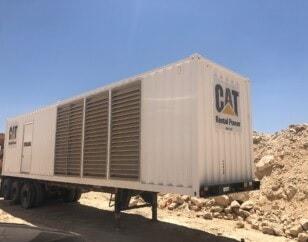 Continuous CAT generator with enclosure