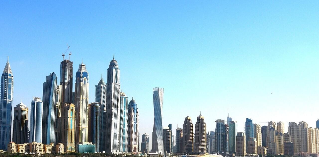 Dubai's growing infrastructure