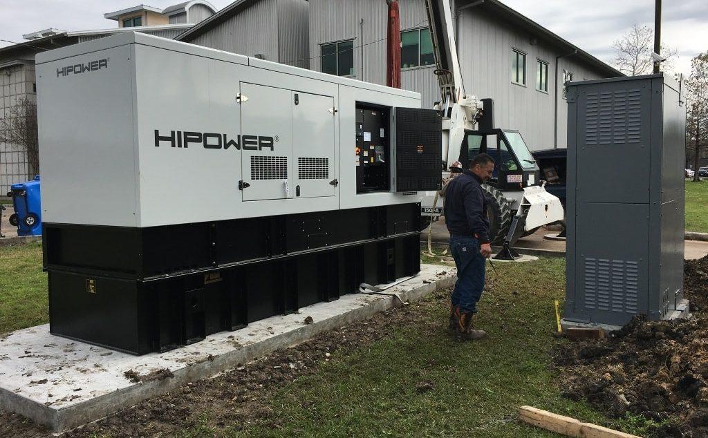 Installing a HiPower generator