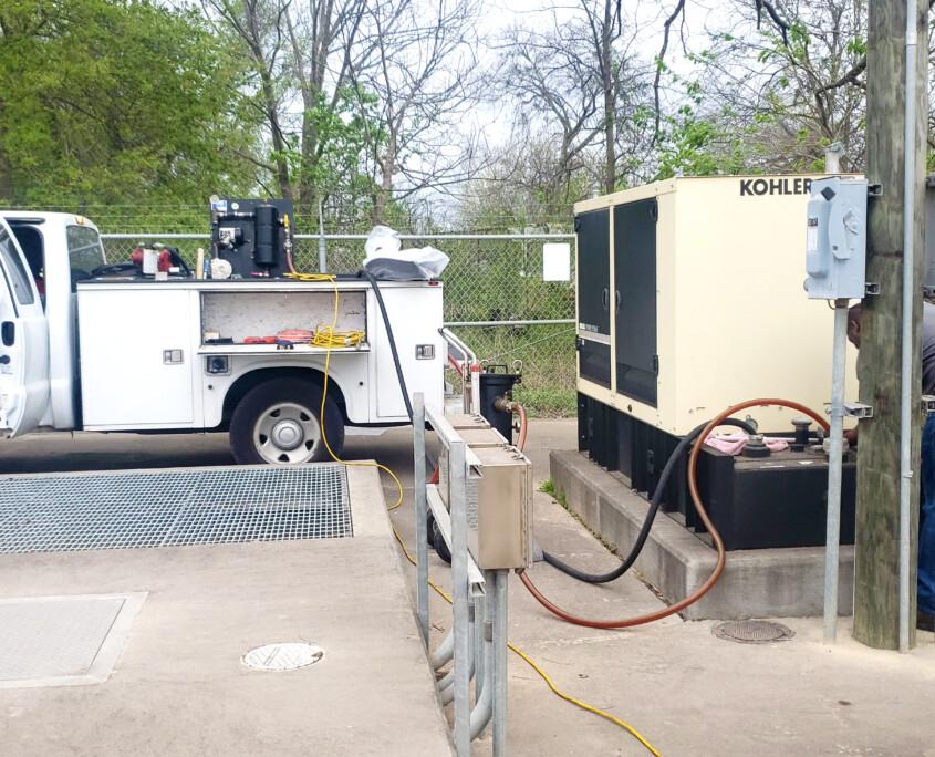 Diesel Fuel Top Off