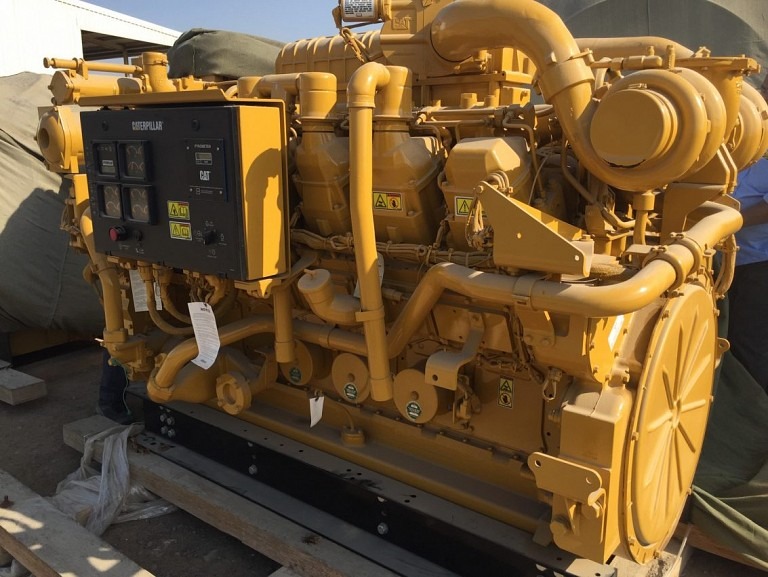 Caterpillar generator engine