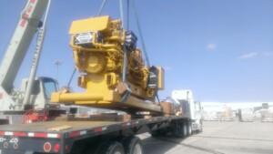 Cat 3516 offshore generator set