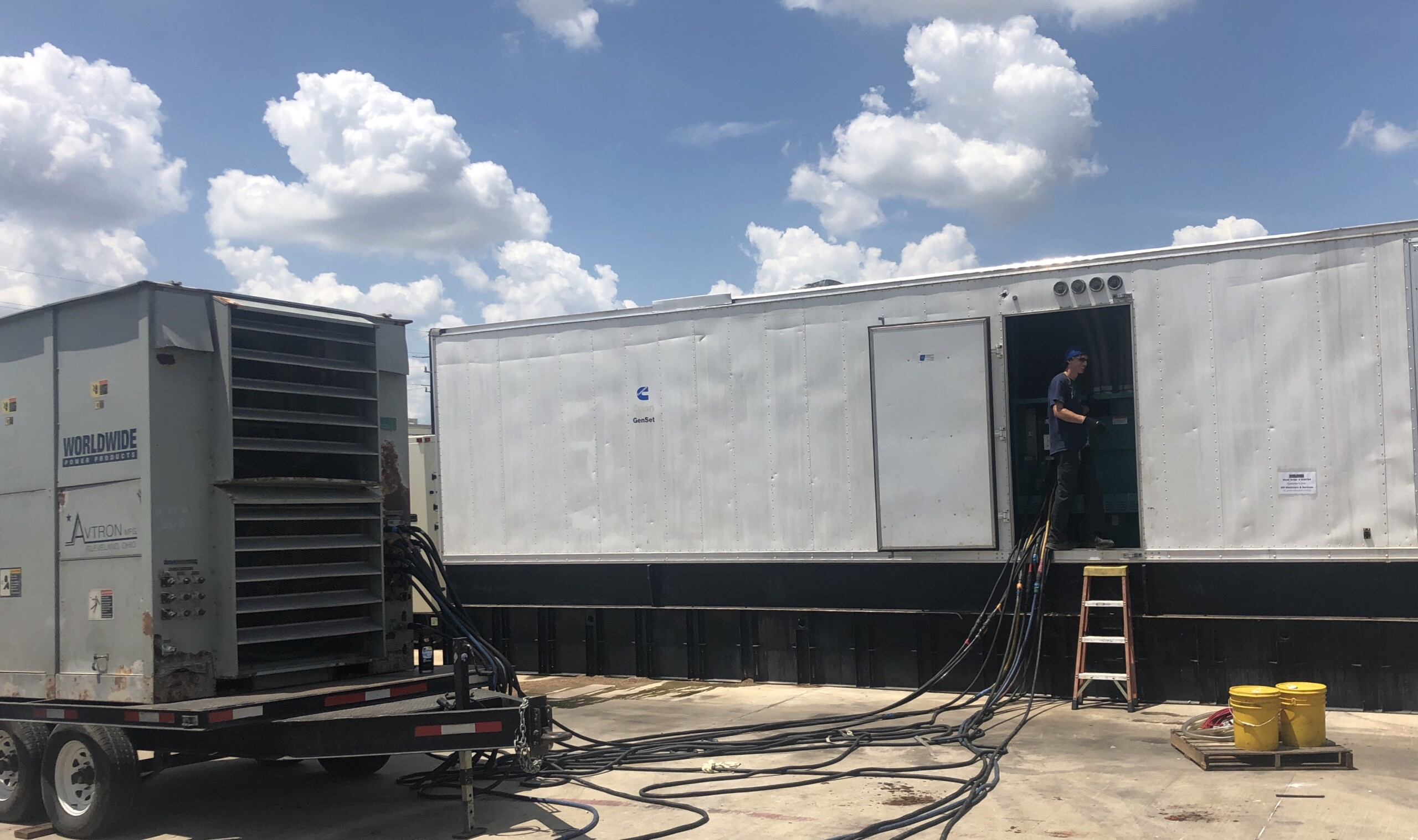 Cummins 1250 kW Load Bank Test