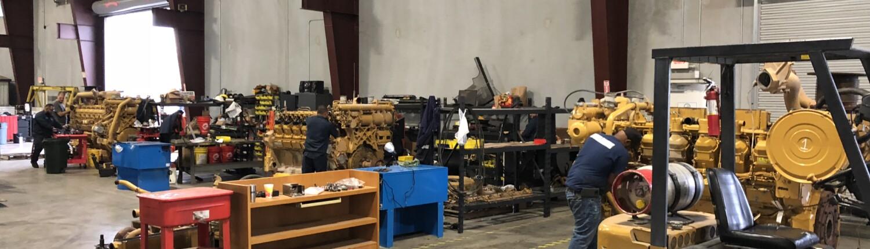 Caterpillar engine overhauls