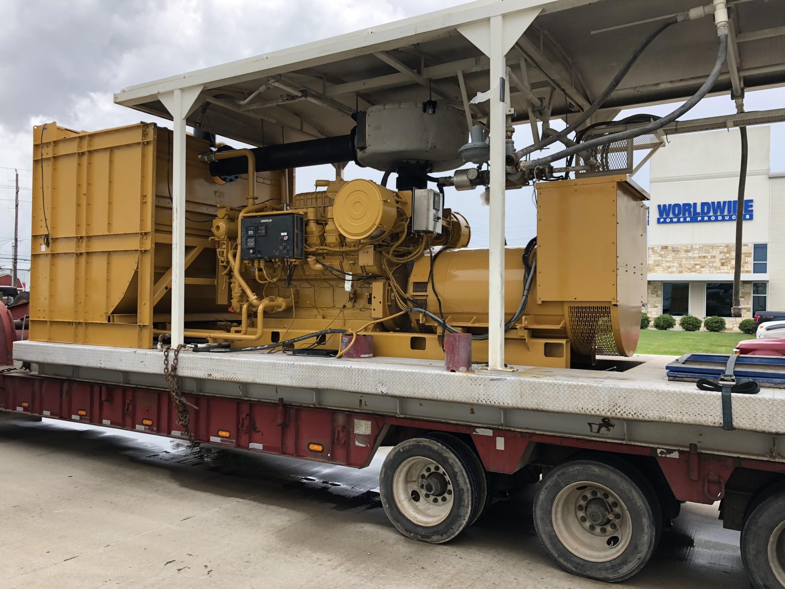Cat 3512C petroleum generator