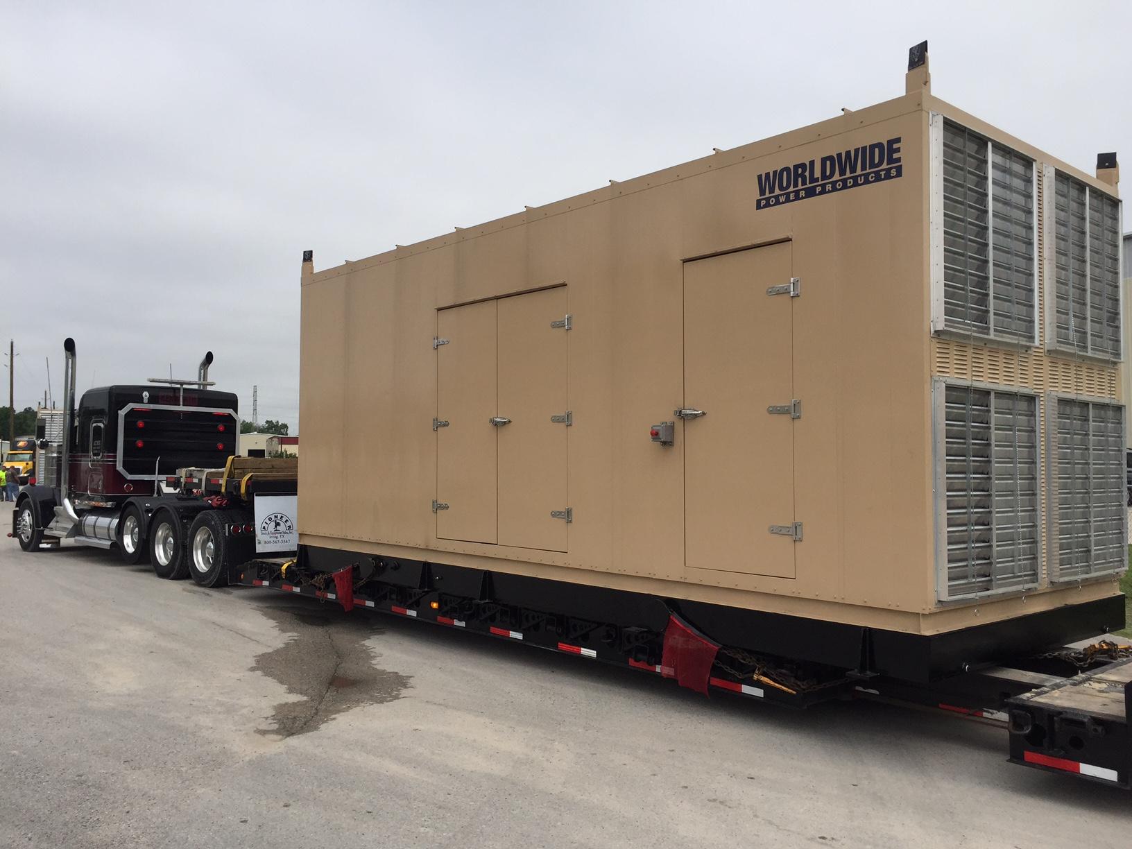 Custom packaged generator