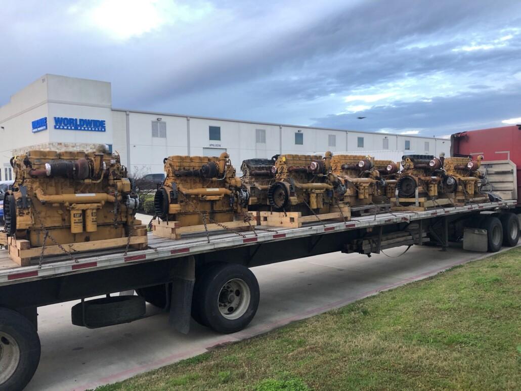 Cat C18 engines
