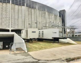 Houston Astrodome generators