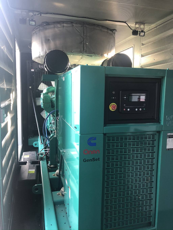 Remote monitoring control panel on Onan generator