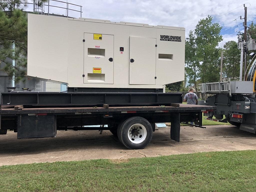 MUD 43 - WPP diesel generator on-site