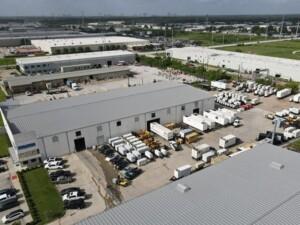 Birdseye view of generator inventory at WPP