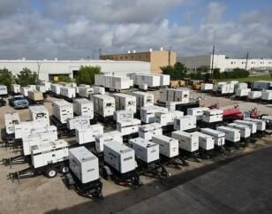 Generator rental stock at WPP