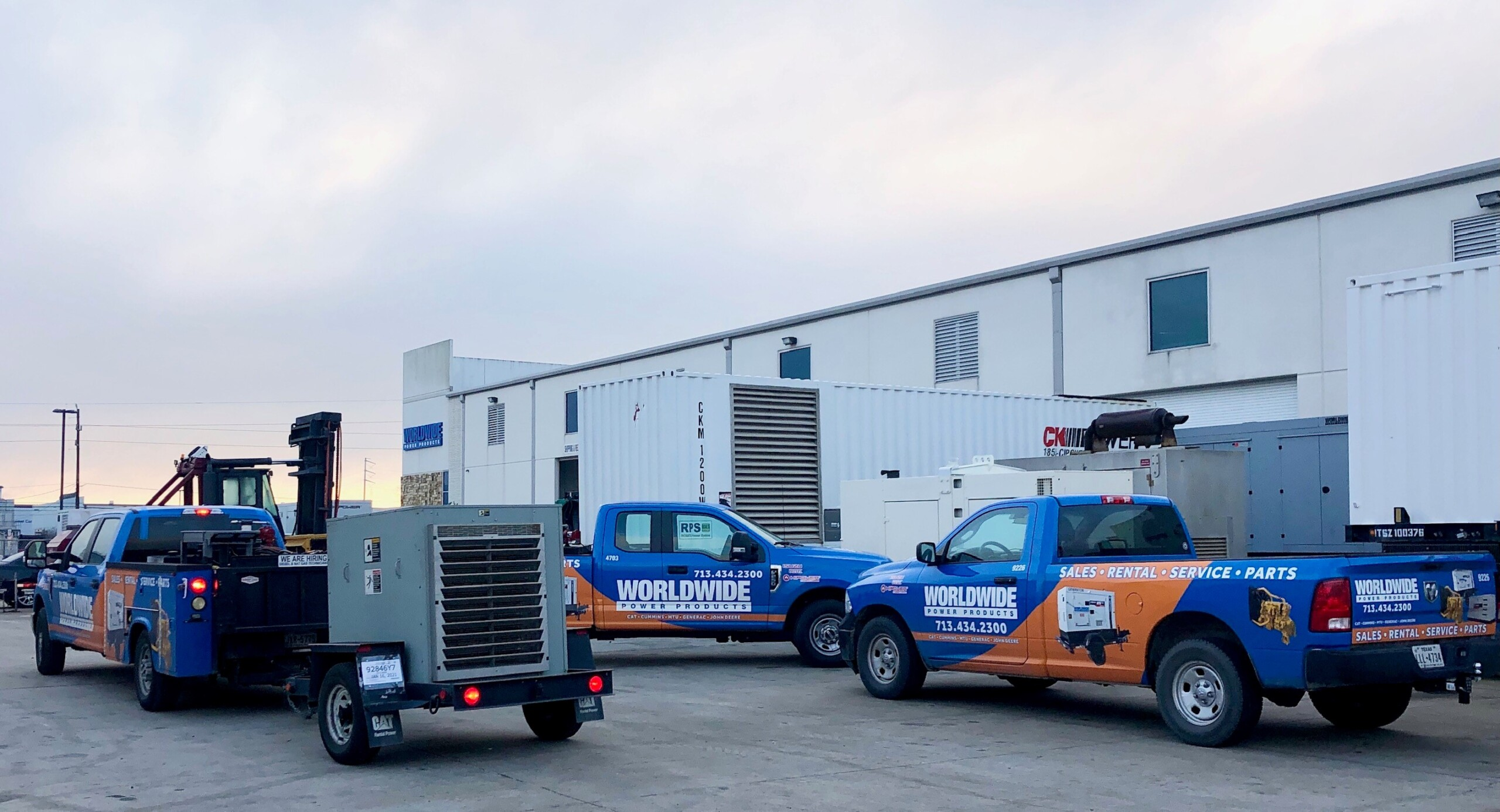 Field Service Trucks