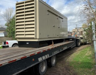 Multiple MUD project - generator on truck for installation